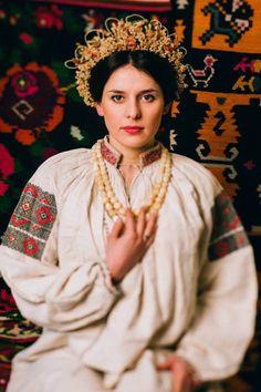 Ukraine, Podillya. National costume.