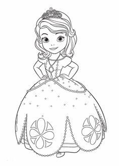 Sonhando com cores: Princesa Sofia - Disney