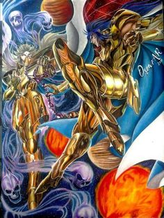 Gold Art, Oscar, Anime, Dragon Ball, Memes, Saints, Princess Zelda, Fan Art, Manga