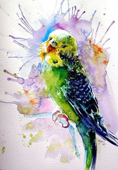 Buy Lovely parrot, Watercolour by Kovács Anna Brigitta on Artfinder. Discover thousands of other original paintings, prints, sculptures and photography from independent artists.