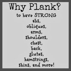 Fitness By Alicia: Workout Wednesday - Planks