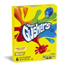Fruit Gushers Variety Pack, 6 Count -- Tried it! Love it! Click the image. : Prime Pantry