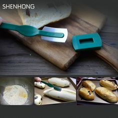 Cheap bagel cutter, Buy Quality bread tool directly from China bread baguette Suppliers: Specialty European Bread Arc Curved Bread Knife Western-style Baguette Cutting French Toas Cutter Prestrel Bagel kitchen Tools