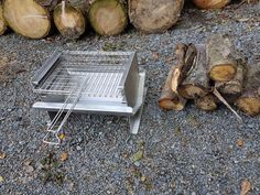 Bbq Equipment, Stainless Steel Bbq, Firewood, Crafts, Products, Stainless Steel Grill, Woodburning, Manualidades, Stainless Steel Bbq Grill