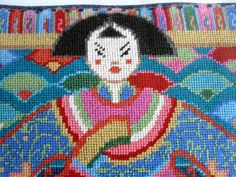 TAPESTRY KIT EHRMAN China Doll Tapestry 2006 by BigGirlSmallWorld