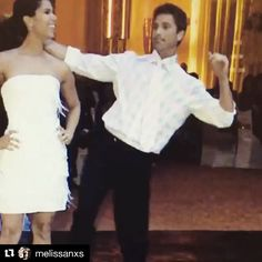 8 years ago today I busted these amazing moves on the dance floor of our wedding for you @roselyn_sanchez . Just for you! Te amo mucho! Thank you for all the amazing years, for our beautiful daughter and all that we've shared. What a journey it's been! #happyanniversary #letskeepdancingtogether #icanmove 😂❤️