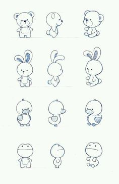Character design by : simple cartoon drawings, simple animal drawings, simple Doodle Sketch, Doodle Drawings, Easy Drawings, Simple Animal Drawings, Simple Cartoon Drawings, Rabbit Cartoon Drawing, Simple Cute Drawings, Simple Sketches, Tier Doodles