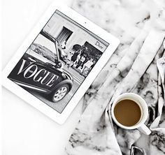 Easy like Sunday Morning on #tuesday #vogue #coffee #sorryforwhatisaid #beforecoffee #chillday