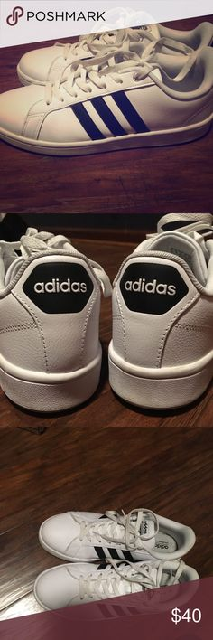 Black/white Adidas Allstar Cloud foam Lightly used adidas Shoes Sneakers