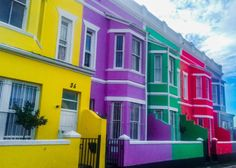 From the brightly colored houses of Cape Town to Burano, here are 32 of the most colorful cities on Earth - including some you've probably never heard of!