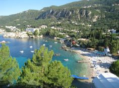 Paleokastritsa, Corfu. The other side of the island... stunningly beautiful, the people and the place. A perfect place for couples.