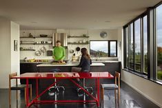 Cycle House in Seattle / Chadbourne + Doss Architects
