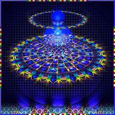 Amazing Mandala art by MAEDA, Josaku.
