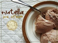 LOVE Nutella! Must try this :)  http://www.livecrafteat.com/eat/nutella-ice-cream/