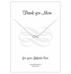 Jewellery Card ''Thank you Mum'