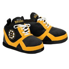 NHL - Boston Bruins Sneaker Slippers Small Mens
