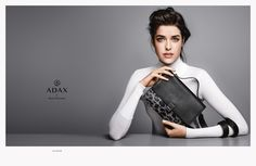 Adax Autumn/Winter 2015 campaign –  Creative direction Homework, Photography Hasse Nielsen, Styling Alexandra Carl, Hair & makeup Trine Skjøth, Model Marie Nasemann