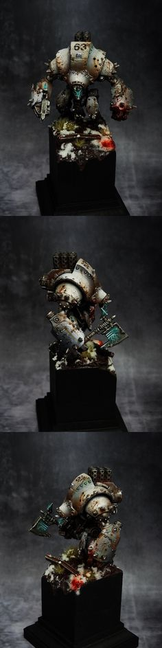Very, very cool Khador Warjack by dre4mit - Warmachine