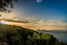 Sunset In Corfu by Stylianos Lavranos on 500px