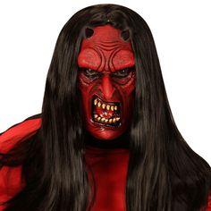 Masque Diable Lucifer #masquesdéguisements #accessoiresdéguisements #accessoiresphotocall
