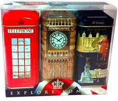 Explore London Tea Gift Set - http://mygourmetgifts.com/explore-london-tea-gift-set/