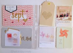 Hello Today Create: Hello Week 36 Project Life using Becky Higgins cards & @studio_calico kits.