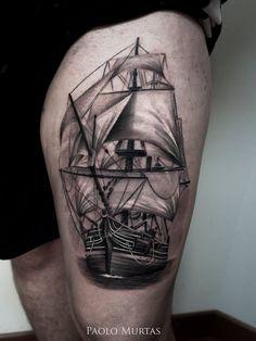 http://tattooideas247.com/thigh-sailing-ship/