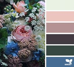 { flora palette } image via: @cherfoldflowers The post Flora Palette appeared first on Design Seeds.