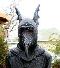 Leatherhead Originals Batwing Plague Mask