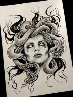Résultats de recherche d'images pour «medusa tattoo»