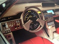 Ford Probe Dashboard 1979