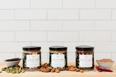 Solstice Canyon Almond Butter via @thedieline