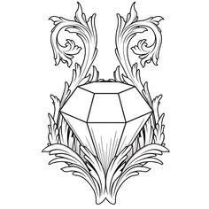 Diamond Tattoo by ~blind-art on deviantART