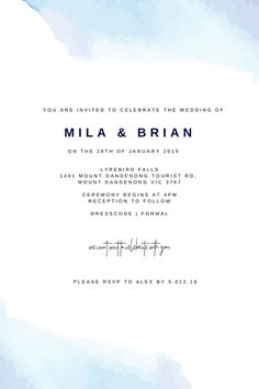 Custom Designed Wedding Invitations by Bells and Ivory. Email us at mailbox@bellsandivory to have this custom made for you! From $3 a card! Bespoke Design, Custom Design, You Are Invited, Mailbox, Rsvp, First Love, Wedding Invitations, Ivory, Celebrities