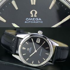 1965s Vintage OMEGA Seamaster 562 Automatic Date Steel Mens Watch