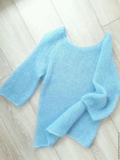 Sweatshirts and sweaters handmade. Pullover from no . Cable Knit Jumper, Mohair Sweater, Pullover Sweaters, Angora, How To Purl Knit, Cardigan Pattern, Mode Outfits, Knit Mittens, Baby Knitting