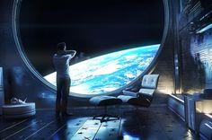 far away by Anton Cherenko | Sci-Fi | 3D | CGSociety