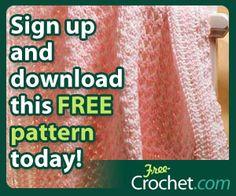 FREE Crochet Patterns: FREE Crochet C2C Baby Blanket Pattern Beautiful Textured Balnket Pattern with the Corner to Corner Stitch
