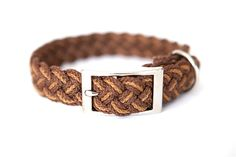 Vancouver Island Two-toned Braided Collar. (wish they offered a black one too!)