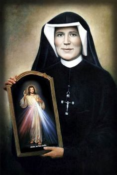 Saint Quote of the Day: St. Maria Faustina Kowalska of the . Jesus Mother, Blessed Mother, Mother Mary, St Faustina Kowalska, Juan Pablo Ii, Words Of Jesus, Saint Quotes, Divine Mercy, Catholic Saints
