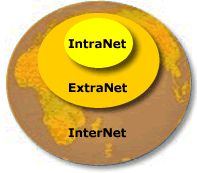 Extranets is a private network which looks outwards. It allows a business to share information, documents, manage projects, communicate and integrate operations with partners, distributors, suppliers, vendors, customers or any other group of people concerned with the business. Extranets provides a cost-effective solution free of the costs associated with complex virtual private networks (VPN).