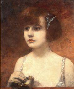 View past auction results for Henri Gervex on artnet - Dans la loge.