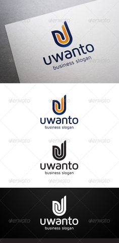 Uwanto U Letter - Logo Design Template Vector #logotype Download it here: http://graphicriver.net/item/uwanto-u-letter-logo/5310022?s_rank=1241?ref=nexion