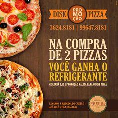 Promoção Disk Pizza