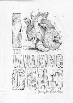THE WALKING DEAD – DEUX POSTERS PAR GABRIEL MARQUES