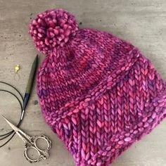 Dokonalá pletená čepka z Malabrigo Rasta od Peti Nemravky. Knitted Hats, Winter Hats, Knitting, Tricot, Breien, Stricken, Weaving, Knits, Crocheting