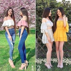 5 Ways Youve Never Heard of Before to Look Stylish on a Budget Girl Fashion, Fashion Outfits, Womens Fashion, Fashion Hair, Fashion Clothes, Fashion Ideas, Twin Girls Outfits, Pretty Outfits, Cute Outfits