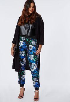 plus size florals pant - Google Search