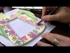 Mulher.com 16/09/2014 - Placa Regador Casa Passarinho Pintura MDF por Cris Nagy - YouTube