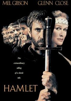 Hamlet (1990) Shakespeare's brooding, medieval Dane, Hamlet (Mel Gibson), senses something rotten in the state of Denmark; specifically, he smells a rat behind his royal father's death. Hamlet's mother (Glenn Close) may be complicit in the tragedy, while ill-fated Ophelia (Helena Bonham Carter) is an innocent bystander in love with the young prince. A wonderful supporting cast includes Ian Holm as Polonius and Alan Bates as Claudius. Franco Zeffirelli directs.